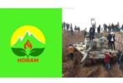 پلاتفۆرمی هۆرام : هێرشەکانی تورکیە بۆ سەر باشوور و رۆژئاوای کوردستان شەرمەزار دەکەین .