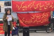 Partiet för Fritt Liv i Kurdistan (PJAK) i Stockholm solidariskt med politiska fångar i Iran