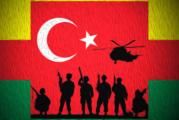 Turkisk invasion kuvar inte kurderna